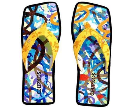 Designer Inspired Flip Flops