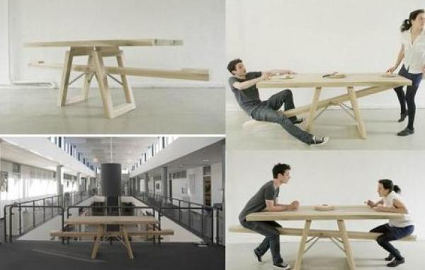 Seesaw Picnic Table