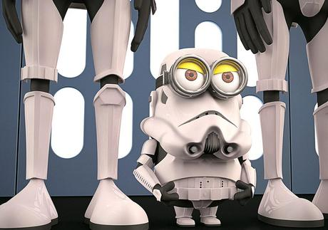 Minions Redesigned as Stormtrooper