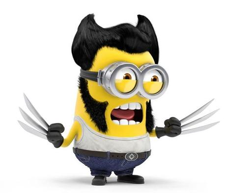 Minions Redesigned as Wolverine