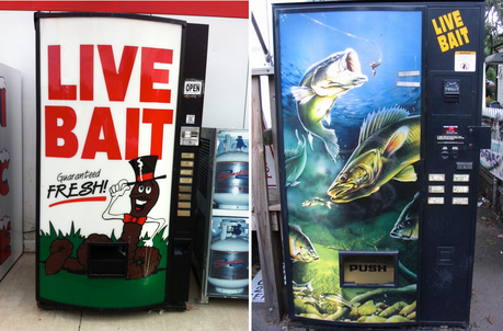 Live Bait Vending Machine