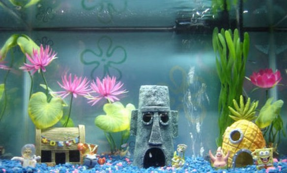 Top 10 Amazing and Unusual Themed Fish Tanks