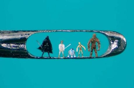 Miniature Sculpture: Star-Wars