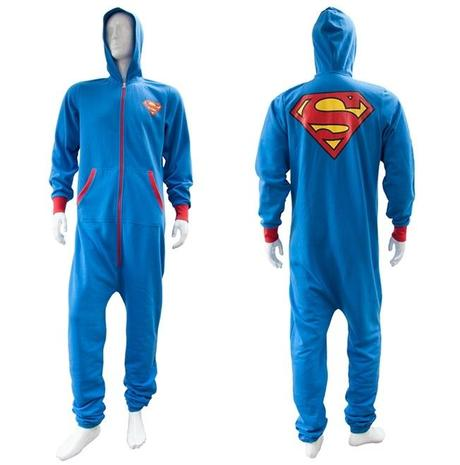 Superman Inspired Onesie