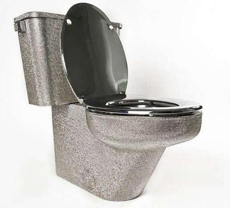 Swarovski Inspired toilet