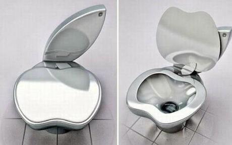Apple Shaped Toilet