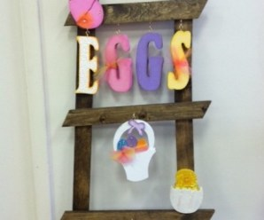 Ten Pictures of Easter Ladders to Hopefully Inspire Your Own