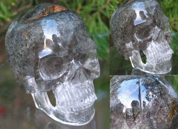Ten Creepy but Awesome Geode Skulls You Can Buy Right Now
