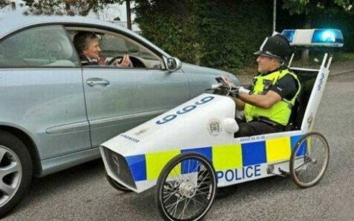 Top 10 Funny and Unusual Police Vehicles