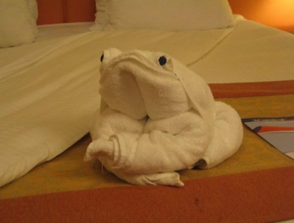 Top 10 Best Examples of Towel Art Animals