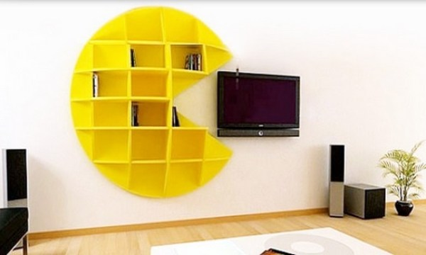 Top 10 Nerdy and Unusual Bookcases