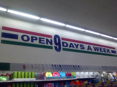 Top 10 Funny Shop Signs That are Clearly Lying