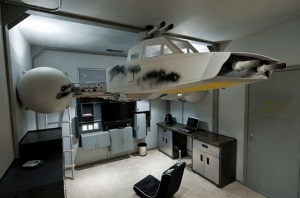 Y-wing starfighter bed