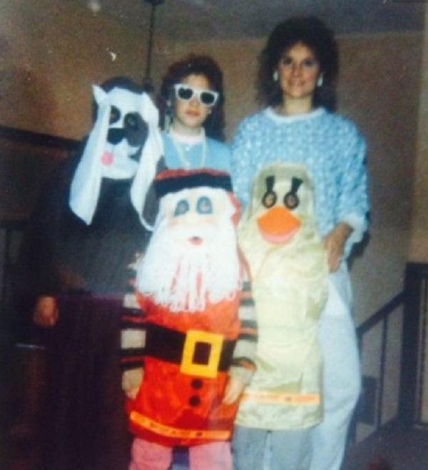 Awkward Family Halloween Photo