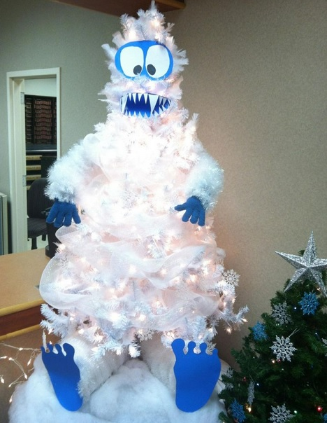 Ten Character Themed Christmas Trees With Festive Personality