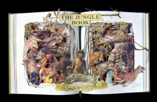 Top 10 Amazing Book Sculptures by Kelly Campbell