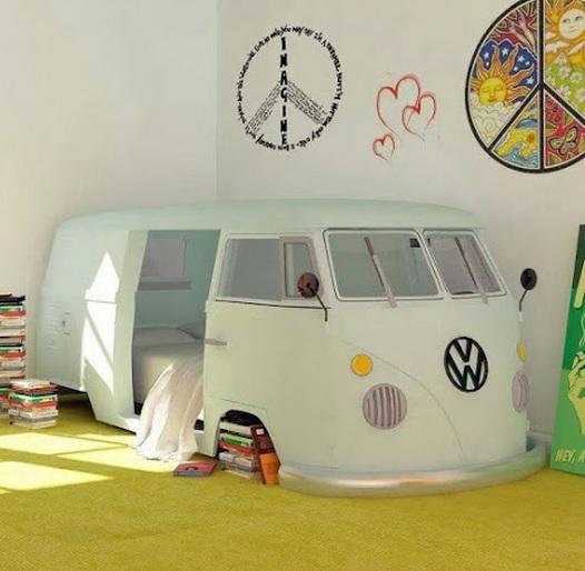 Camper Van Baby Shoes