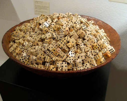Top 10 Works of Art Made From Dice