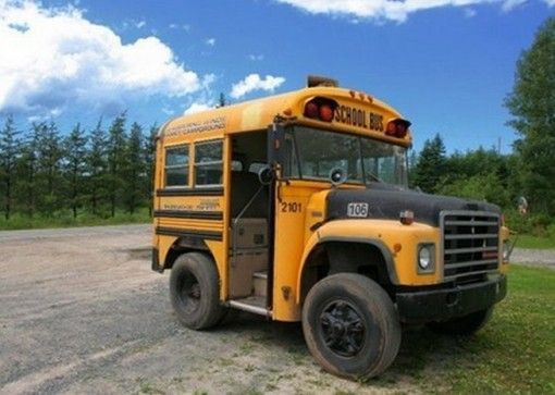Top 10 Crazy and Unusual Yellow School Buses