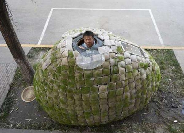 The Dai Haifei 'Egg House', China