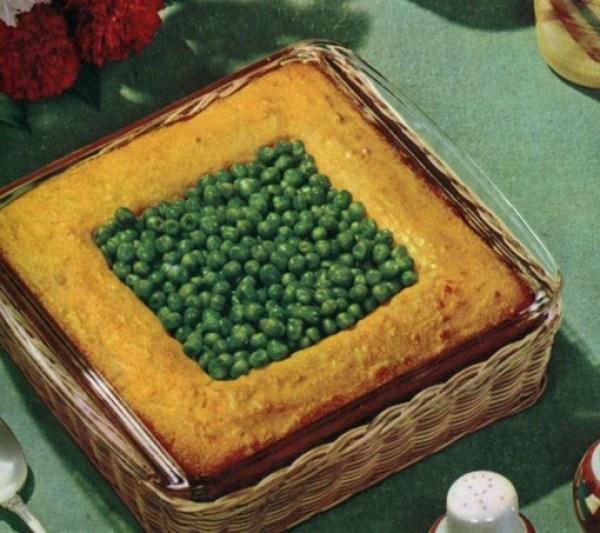 Square Pie and Peas
