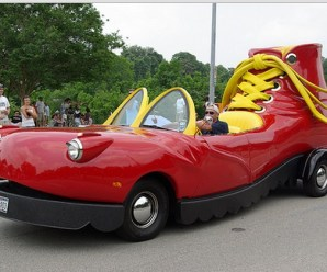 Top 10 Weird and Wacky Cars Shaped Like Shoes