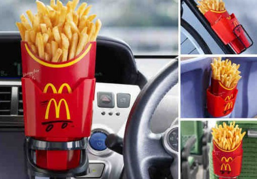 French Fry Car Holder