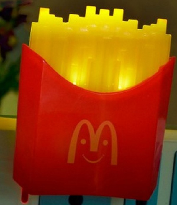 French Fry Night Light