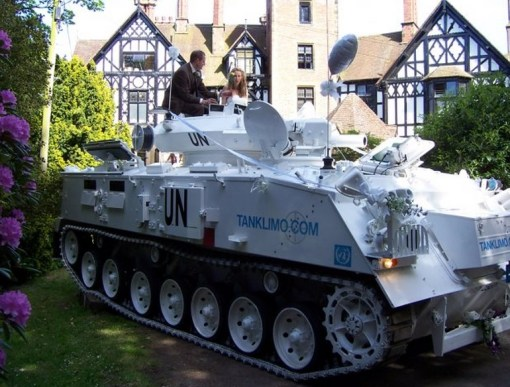 Top 10 Crazy Ways To Recycle Army Tanks