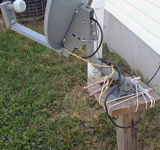 Top 10 Ways Not to Install a Satellite Dish