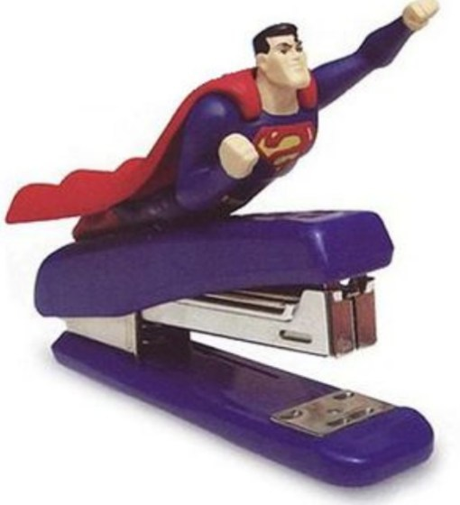 Superman Stapler