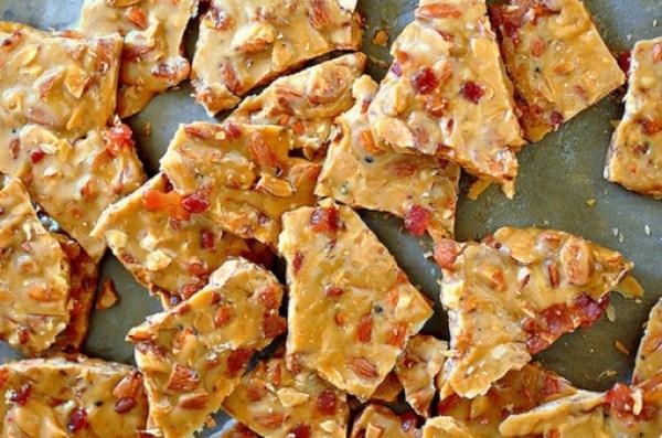 Bacon Almond Brittle