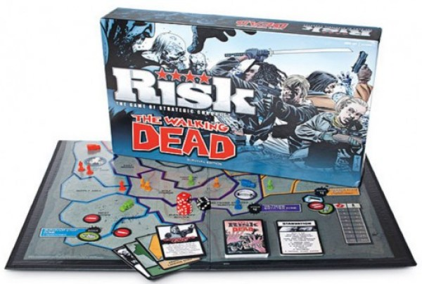 Risk: The Walking Dead Survival Edition Board Game