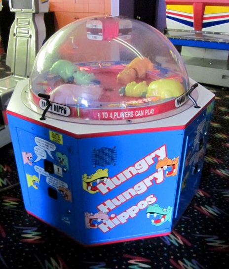 Hungry Hungry Hippos Arcade Machine