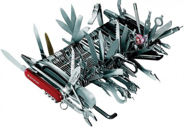 World's Largest Swiss Army Knife