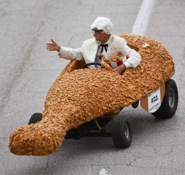 Ten Of The Craziest Chicken Shaped Cars You Will Ever See