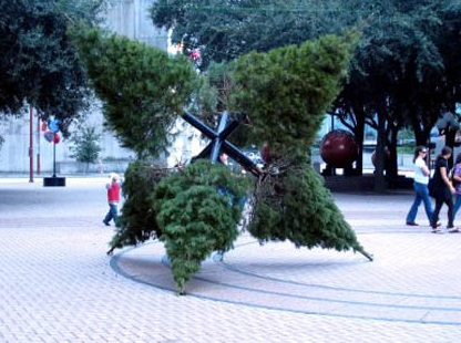 Top 10 Crazy Art Christmas Trees