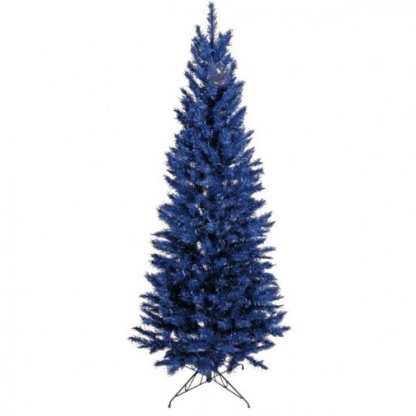Blue Coloured Christmas Tree