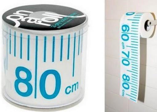 Tape Measure Toilet Paper / Loo Roll