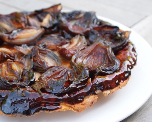 Caramelised Red Onion Tarte Tatin