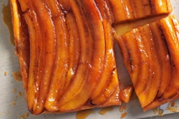 Banana Tarte Tatin