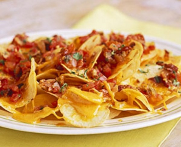 Meal Time Nachos Made With Pringles