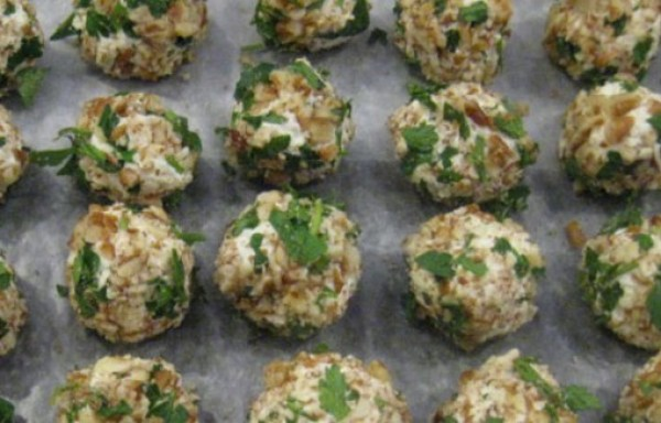 Savory Cheese Truffles
