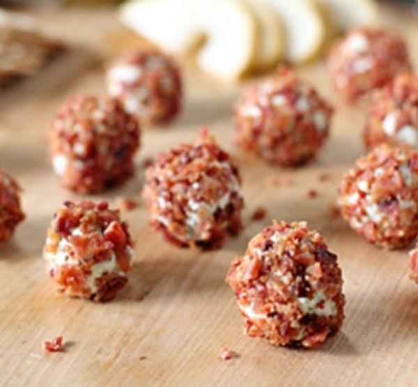 Gorgonzola Bacon Truffles