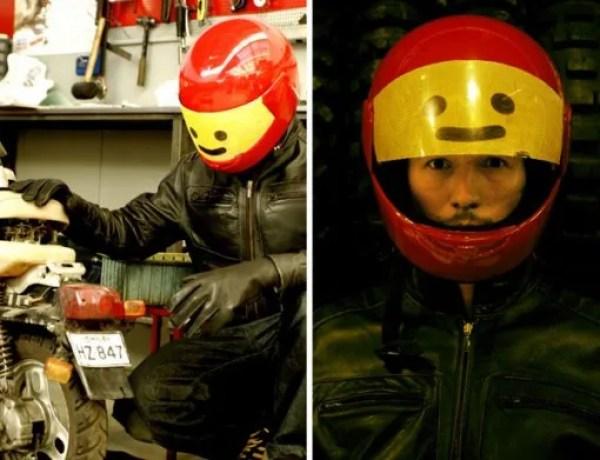 Lego Head Crash Helmet