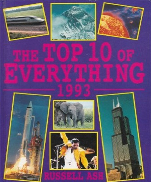Top 10 of Everything 1993 - By Russell Ash