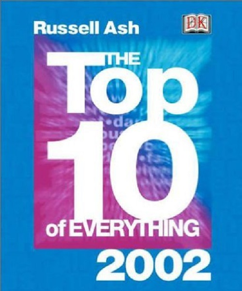 Top 10 of Everything 2002 - By Russell Ash