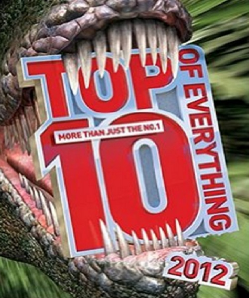 Top 10 of Everything 2012 - By Caroline Ash