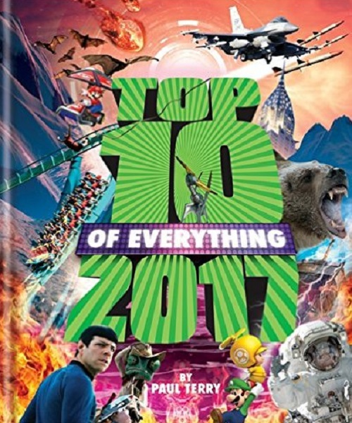 Top 10 of Everything 2017 - By Paul Terry