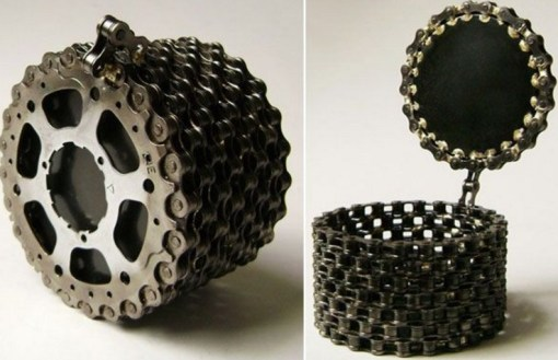 Bicycle Chain Jewellery Box